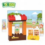 BiOBUDDi - Bakery - Eco Friendly Block Set - 30 Blocks